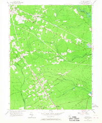 Download a high-resolution, GPS-compatible USGS topo map for Dorothy, NJ (1967 edition)
