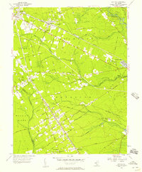 Download a high-resolution, GPS-compatible USGS topo map for Dorothy, NJ (1957 edition)