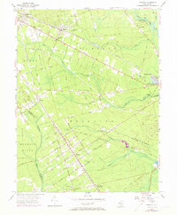 Download a high-resolution, GPS-compatible USGS topo map for Dorothy, NJ (1973 edition)