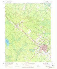 Download a high-resolution, GPS-compatible USGS topo map for Egg Harbor City, NJ (1972 edition)
