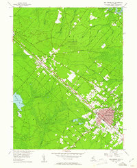 Download a high-resolution, GPS-compatible USGS topo map for Egg Harbor City, NJ (1961 edition)