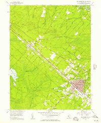 Download a high-resolution, GPS-compatible USGS topo map for Egg Harbor City, NJ (1957 edition)