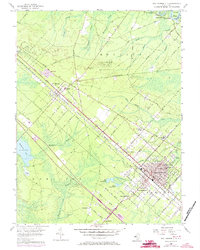 Download a high-resolution, GPS-compatible USGS topo map for Egg Harbor City, NJ (1973 edition)