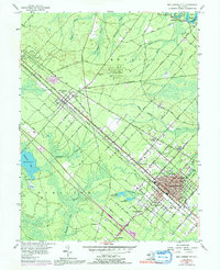 Download a high-resolution, GPS-compatible USGS topo map for Egg Harbor City, NJ (1991 edition)
