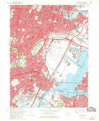 Download a high-resolution, GPS-compatible USGS topo map for Elizabeth, NJ (1970 edition)
