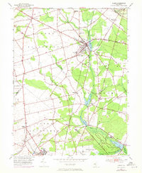 Download a high-resolution, GPS-compatible USGS topo map for Elmer, NJ (1973 edition)