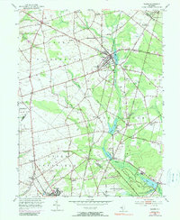 Download a high-resolution, GPS-compatible USGS topo map for Elmer, NJ (1990 edition)