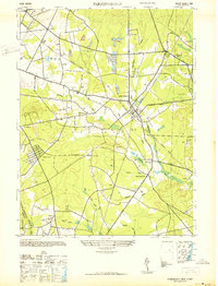 Download a high-resolution, GPS-compatible USGS topo map for Farmingdale, NJ (1942 edition)
