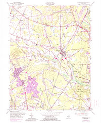 Download a high-resolution, GPS-compatible USGS topo map for Farmingdale, NJ (1988 edition)