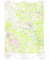 Download a high-resolution, GPS-compatible USGS topo map for Farmingdale, NJ (1954 edition)