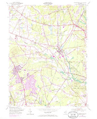 Download a high-resolution, GPS-compatible USGS topo map for Farmingdale, NJ (1985 edition)