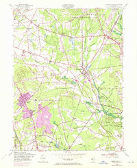 Download a high-resolution, GPS-compatible USGS topo map for Farmingdale, NJ (1972 edition)