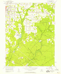 Download a high-resolution, GPS-compatible USGS topo map for Five Points, NJ (1958 edition)