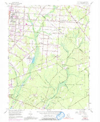 Download a high-resolution, GPS-compatible USGS topo map for Five Points, NJ (1992 edition)