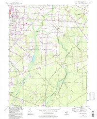 Download a high-resolution, GPS-compatible USGS topo map for Five Points, NJ (1998 edition)