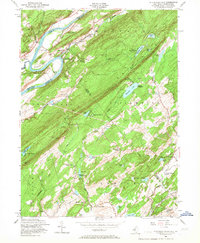 Download a high-resolution, GPS-compatible USGS topo map for Flatbrookville, NJ (1967 edition)