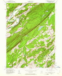 Download a high-resolution, GPS-compatible USGS topo map for Flatbrookville, NJ (1961 edition)