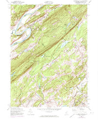Download a high-resolution, GPS-compatible USGS topo map for Flatbrookville, NJ (1974 edition)