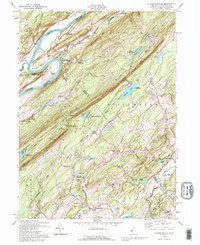 Download a high-resolution, GPS-compatible USGS topo map for Flatbrookville, NJ (1995 edition)