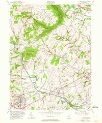 Download a high-resolution, GPS-compatible USGS topo map for Flemington, NJ (1964 edition)