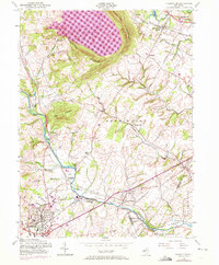 Download a high-resolution, GPS-compatible USGS topo map for Flemington, NJ (1972 edition)