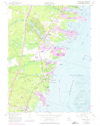 Download a high-resolution, GPS-compatible USGS topo map for Forked River, NJ (1973 edition)