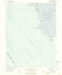 Download a high-resolution, GPS-compatible USGS topo map for Fortescue, NJ (1957 edition)