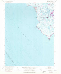 Download a high-resolution, GPS-compatible USGS topo map for Fortescue, NJ (1972 edition)