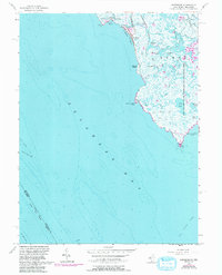 Download a high-resolution, GPS-compatible USGS topo map for Fortescue, NJ (1993 edition)