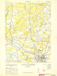 Download a high-resolution, GPS-compatible USGS topo map for Freehold, NJ (1947 edition)