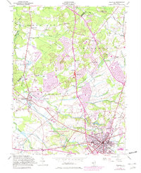 Download a high-resolution, GPS-compatible USGS topo map for Freehold, NJ (1982 edition)