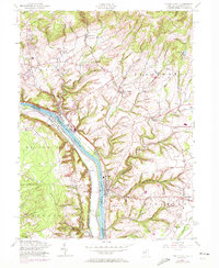 Download a high-resolution, GPS-compatible USGS topo map for Frenchtown, NJ (1972 edition)