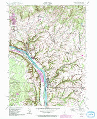Download a high-resolution, GPS-compatible USGS topo map for Frenchtown, NJ (1994 edition)