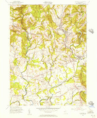 Download a high-resolution, GPS-compatible USGS topo map for Gladstone, NJ (1956 edition)