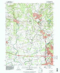 Download a high-resolution, GPS-compatible USGS topo map for Gladstone, NJ (1998 edition)