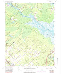 Download a high-resolution, GPS-compatible USGS topo map for Green Bank, NJ (1979 edition)
