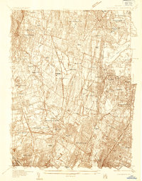 Download a high-resolution, GPS-compatible USGS topo map for Hackensack, NJ (1934 edition)