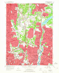 Download a high-resolution, GPS-compatible USGS topo map for Hackensack, NJ (1965 edition)