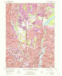 Download a high-resolution, GPS-compatible USGS topo map for Hackensack, NJ (1972 edition)