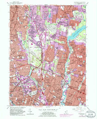 Download a high-resolution, GPS-compatible USGS topo map for Hackensack, NJ (1986 edition)