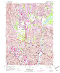 Download a high-resolution, GPS-compatible USGS topo map for Hackensack, NJ (1982 edition)
