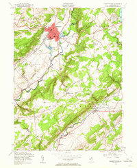 Download a high-resolution, GPS-compatible USGS topo map for Hackettstown, NJ (1962 edition)