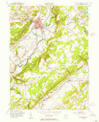 Download a high-resolution, GPS-compatible USGS topo map for Hackettstown, NJ (1955 edition)