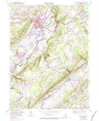 Download a high-resolution, GPS-compatible USGS topo map for Hackettstown, NJ (1984 edition)