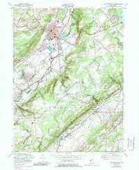 Download a high-resolution, GPS-compatible USGS topo map for Hackettstown, NJ (1987 edition)