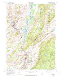 Download a high-resolution, GPS-compatible USGS topo map for Hamburg, NJ (1974 edition)