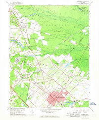 Download a high-resolution, GPS-compatible USGS topo map for Hammonton, NJ (1968 edition)