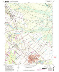 Download a high-resolution, GPS-compatible USGS topo map for Hammonton, NJ (1982 edition)