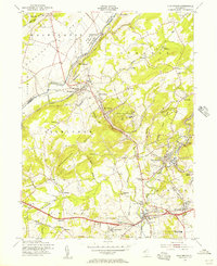 Download a high-resolution, GPS-compatible USGS topo map for High Bridge, NJ (1957 edition)