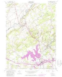 Download a high-resolution, GPS-compatible USGS topo map for High Bridge, NJ (1979 edition)